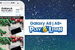 Web template - Samsung Play & Learn